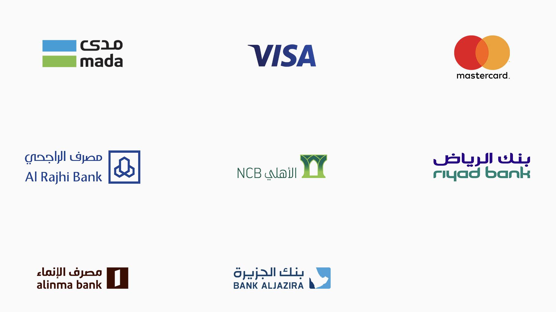 Banks List ماك ارابيا Mac Arabia