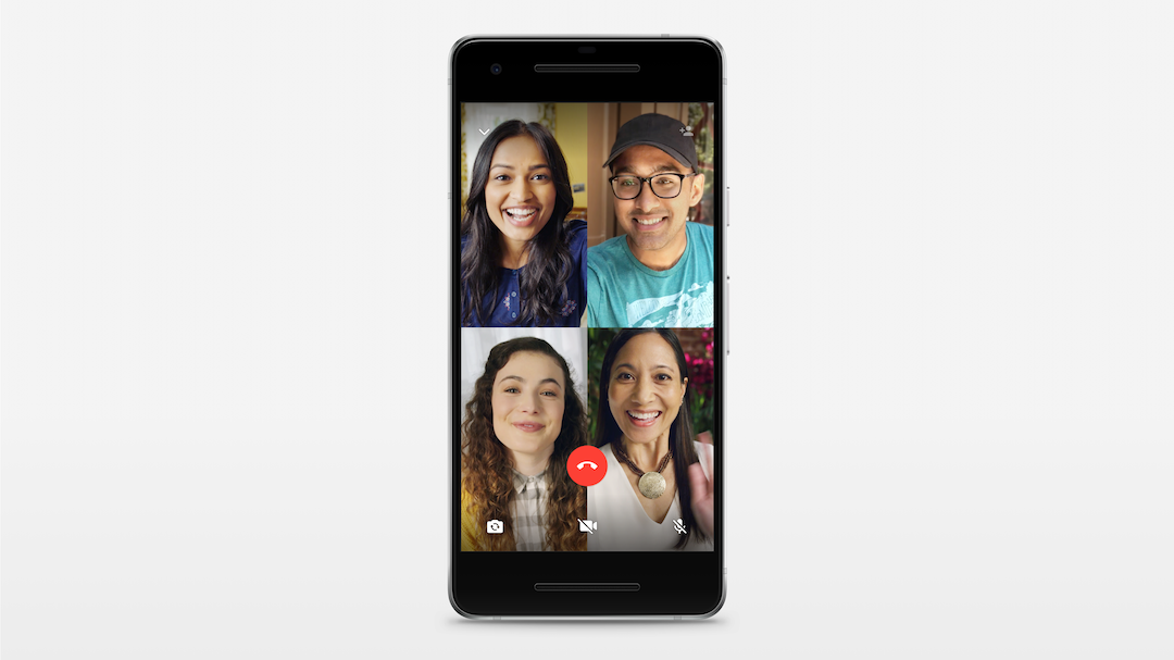 الواتس اب في iOS يحصل على ميزه المحادثات الجماعيه فيديو و صوت