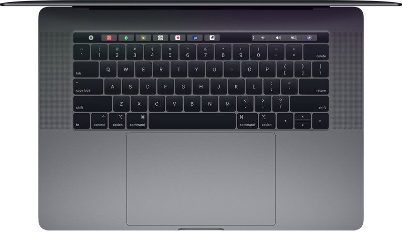 أبل تقول: الجيل الثالث من لوحة المفاتيح حصرية للماك بوك برو 2018