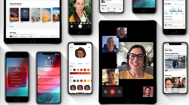 اليوم اطلاق انظمه iOS12 و watchOS 5 و tvOS 12