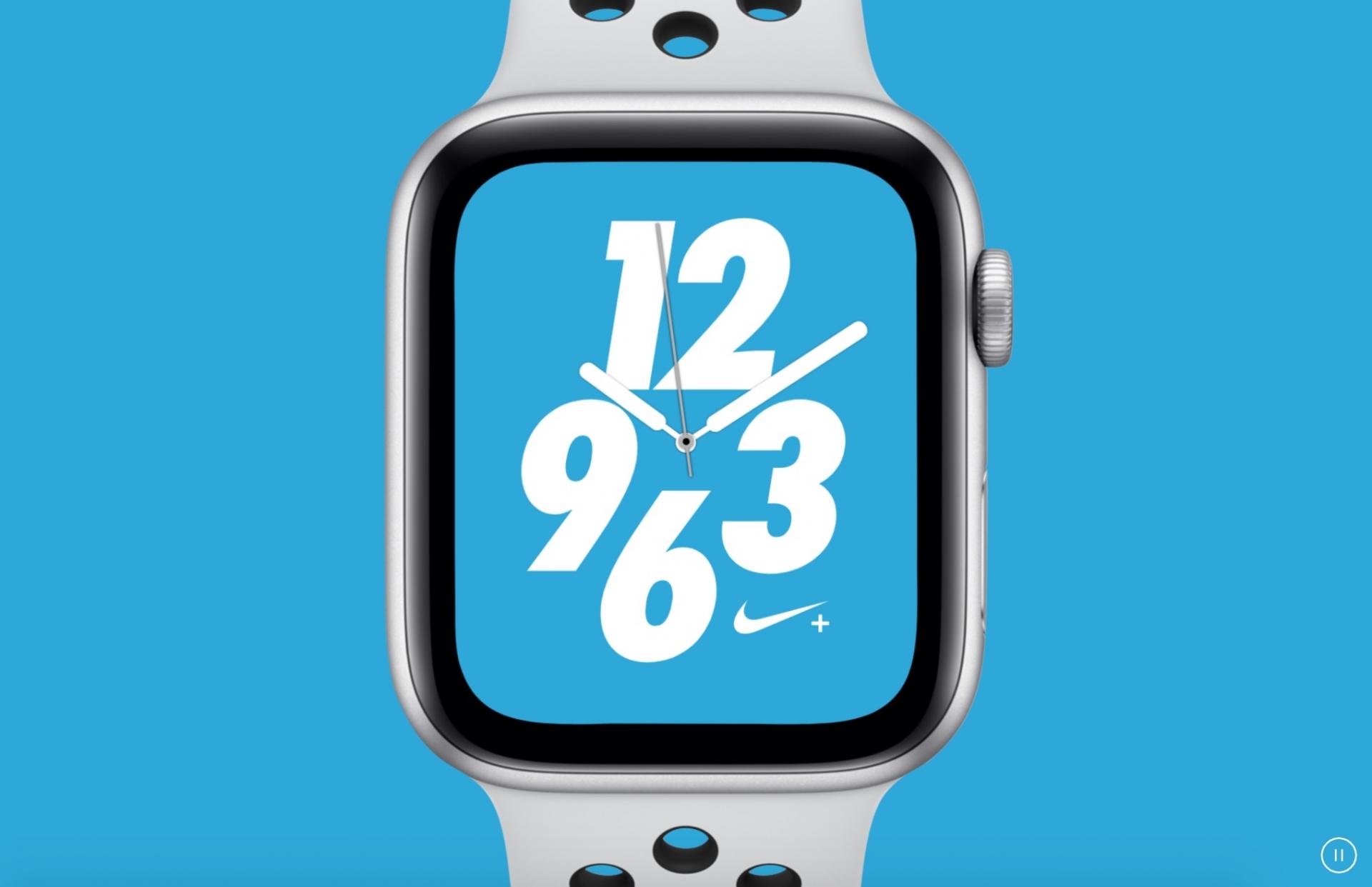 ساعة ابل 4 نسخة NIKE اصبحت متوفرة
