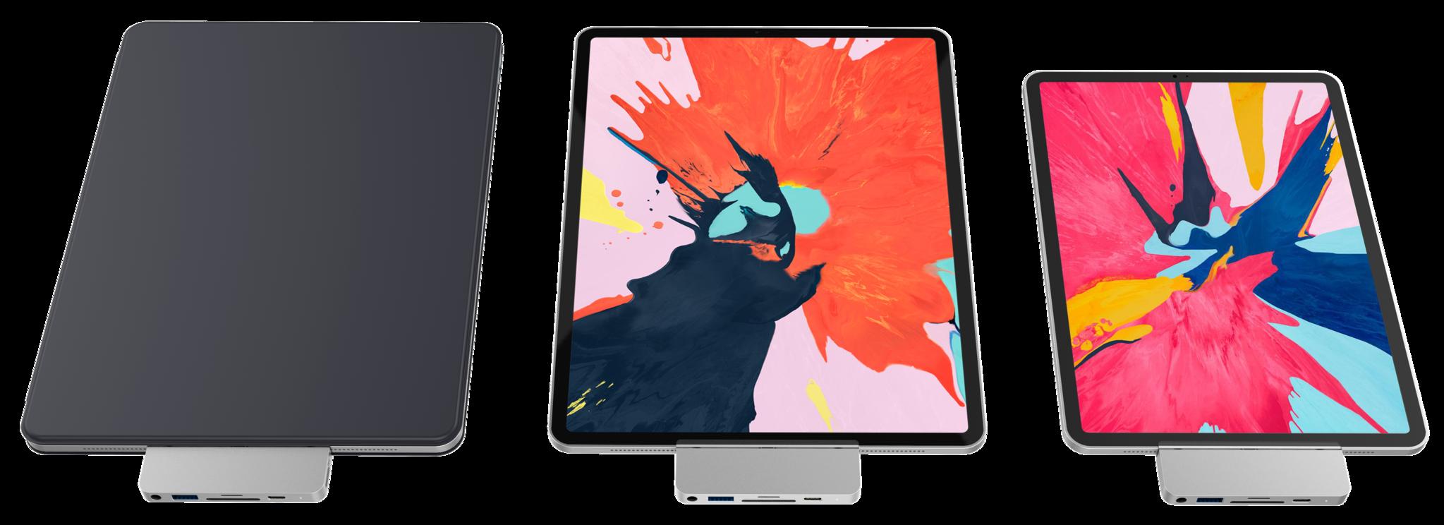 محول HyperDrive للايباد برو الجديد يضيف منافذ لـ 4K HDMI و سماعات الرأس و بطاقة SD والمزيد