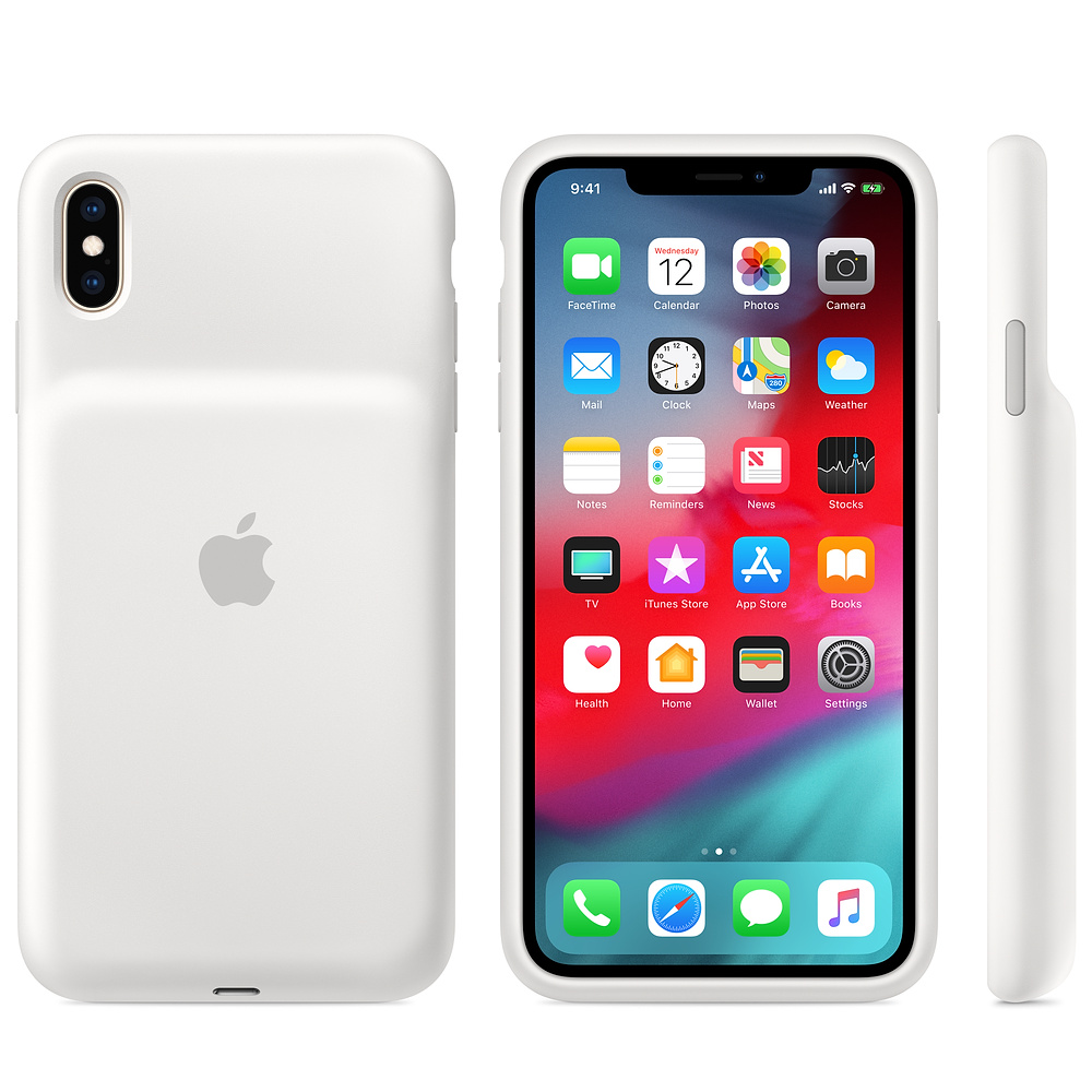 أبل تطلق غلاف البطارية الذكية لأجهزة الايفون XS و XS Max و XR ومتوافقة مع أجهزة الشحن اللاسلكية Qi