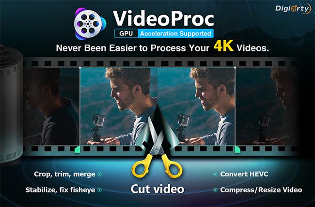 معالج الفيديوهات الايفون و القوبرو videoProc + هدية بالداخل
