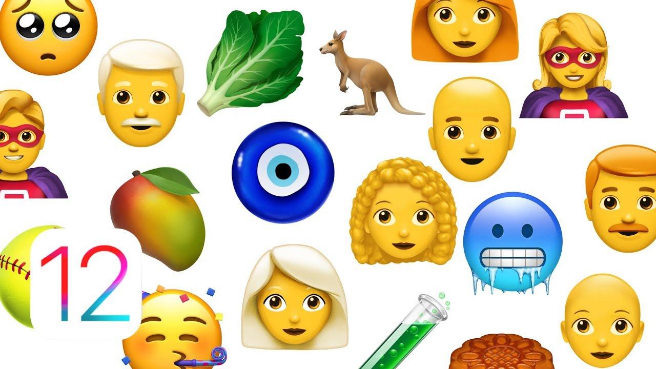 نظرة شاملة على كل الرموز التعبيرية الجديدة القادمة في iOS 12.1