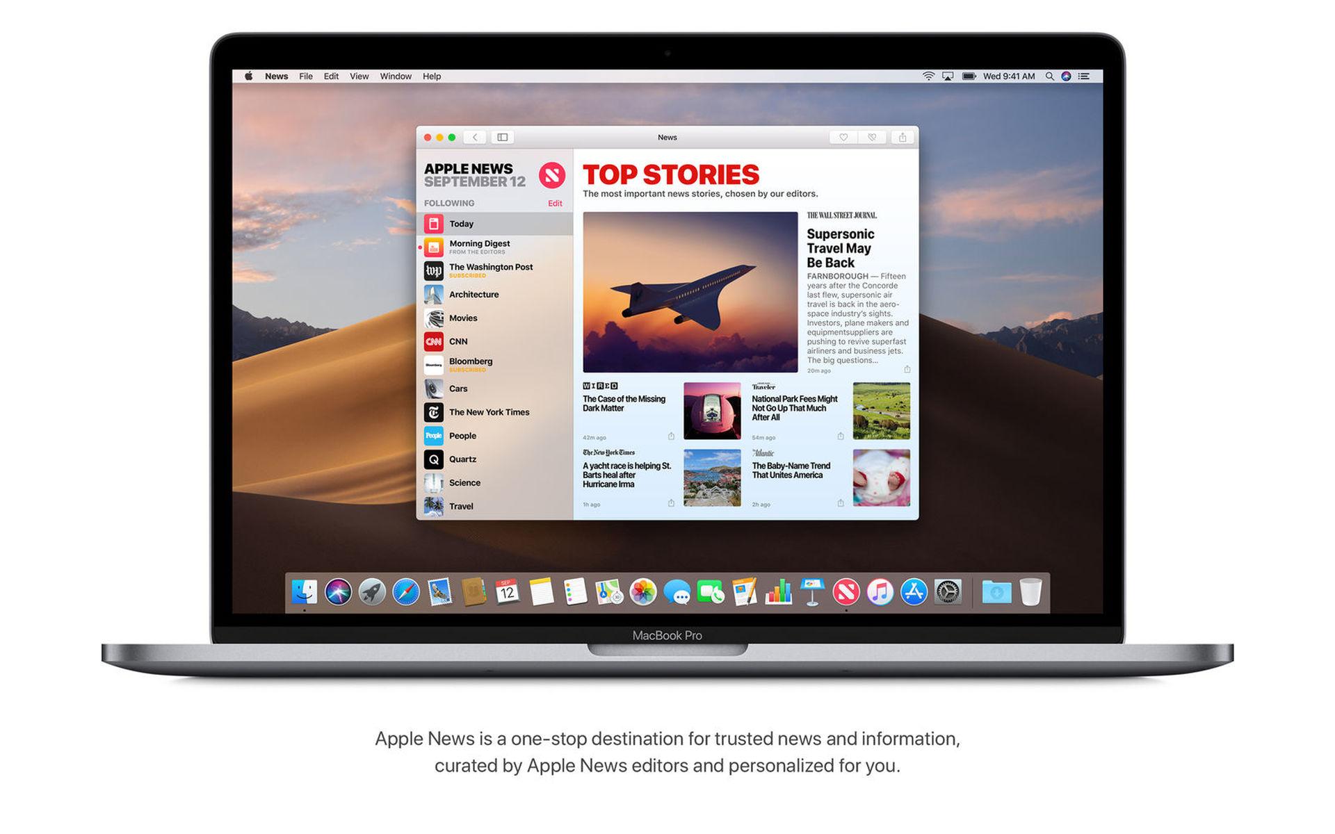 اطلقت ابل تحديث Mojave 10.14.4 مع وضع Safari Automatic Dark Mode ودعم +Apple News