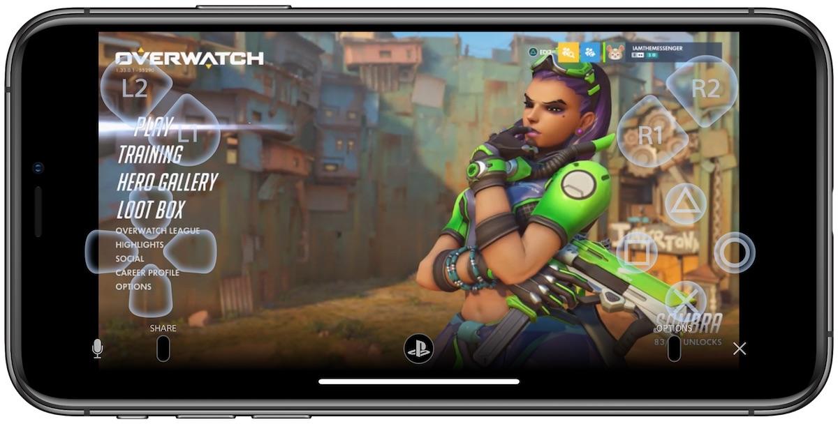 سوني تطلق تطبيق للتحكم في جهاز PS4 بالايفون او الايباد